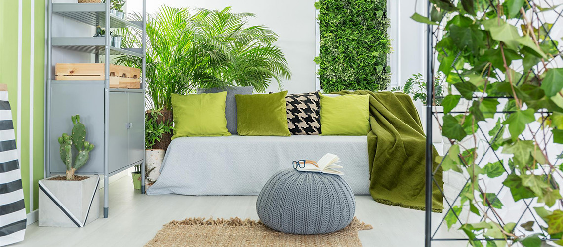 Un giardino interno dentro casa - Giardino interno casa ...