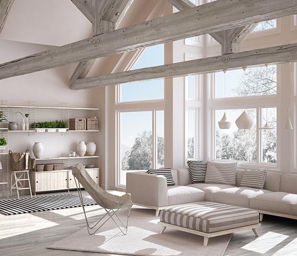 Arredamento naturale ed ecologico per una casa green for Come arredare una casa in legno